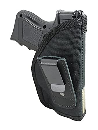 Barsony New Tuckable IWB Holster for Compact Sub-Compact 9mm 40 45