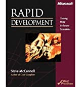 [(Rapid Development: Taming Wild Software Schedules)] [by: S. McConnell]