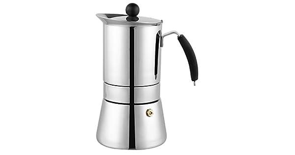 Cuisinox 6 cup Amore Espresso Coffeemaker in Stainless Steel COF-8106