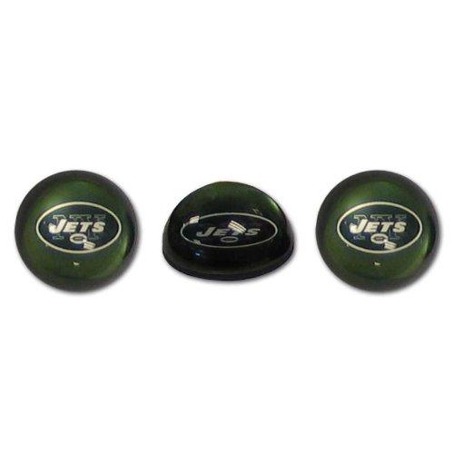 NFL New York Jets Crystal Magnet Set, 3 Piece