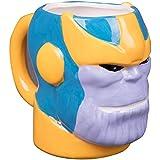Marvel Avengers : Infinity War - Thanos Figural 3-D Ceramic Coffee Mug - 18oz
