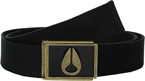 (Nixon Men's Enamel Wings Belt Black/Brass One Size)