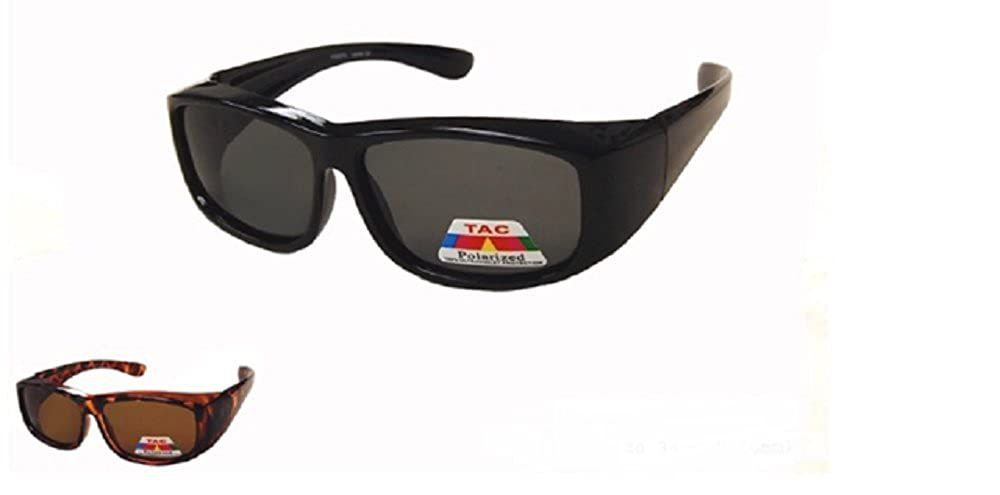 77f0f15f9d Amazon.com  Junior Size Polarized Kid Fit Over Sunglasses -Black  Clothing