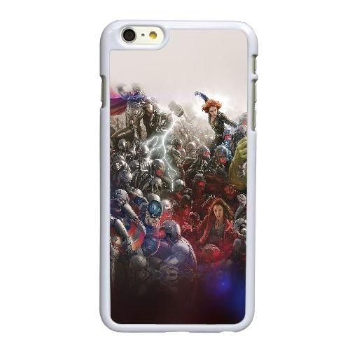 C1O86 al Avengers merveille héros ultron fusée lutte d'art lumière W2A3ZL coque iPhone 6 Plus de 5,5 pouces cas de couverture de téléphone portable coque blanche KN5TMB7YP