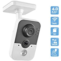 IP Security Camera, Savvypixel 4mp Wireless WiFi Security Camera,Indoor Surveillance Cube PoE Cameras with 2.8mm Lens