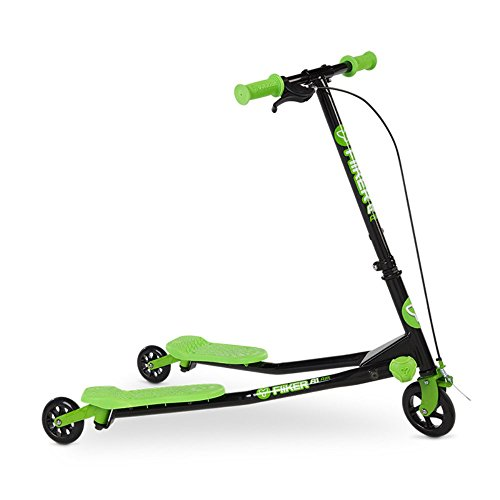 Yvolution Fliker Kids Scooter Green product image