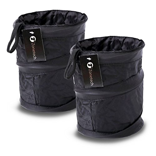 LIGHTENING DEAL! SET OF 2 WATERPROOF CAR TRASH CAN NOW ONLY $11.19!