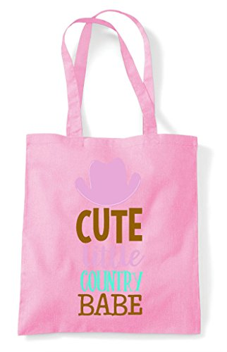 Light Bag Tote Cute Country Pink Shopper Babe Little xvw1Yq8