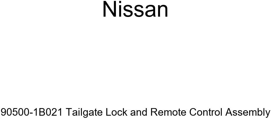 Genuine Nissan 90500-1B021 Tailgate Lock and Remote Control Assembly