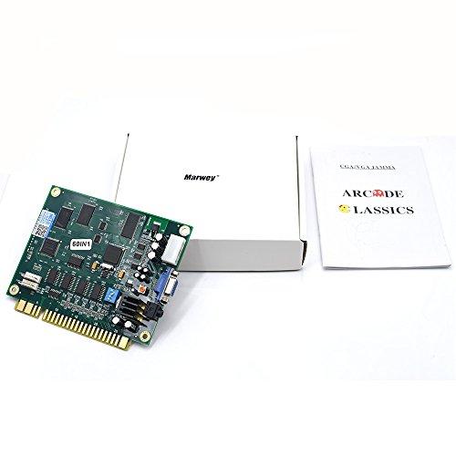Wintex Marwey Classical Arcade Video Games 60 in 1 Pcb Jamma Board CGA/VGA Output by Wintex