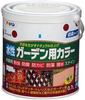 アサヒペン 水性ガーデン用カラー オリエントブルー 0.7L