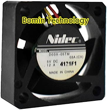 Bomin Technology for NIDEC D03X-05TM 5V 0.12A 3 Wire 3CM 3010 Cooling Fan