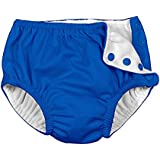 Baby&Toddler Girls Boys Swim Diaper, Snap Reusable Absorbent...