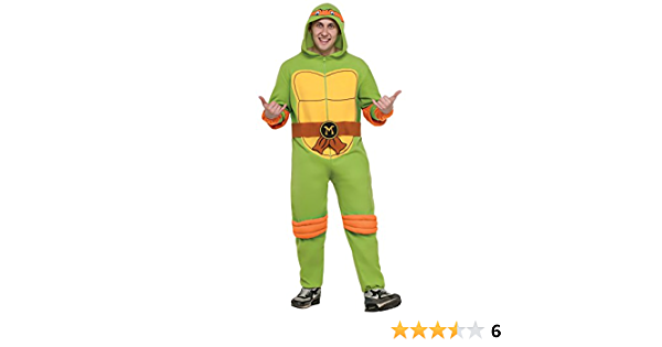 TMNT Union Suit w//Cape Teenage Mutant Ninja Turtles Mens Pajamas