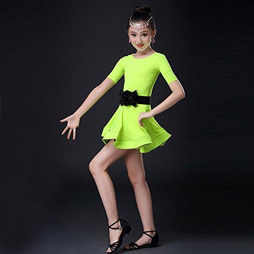 Lungo Pageant Ballerina Abiti Ragazze Nozze Festa Vestito Compleanno Per Battesimo Cerimonia Bambini Carnevale Ragazze Zarupeng Verde Cosplay Arcobaleno Abito Fiore Sera 4Yx4taq