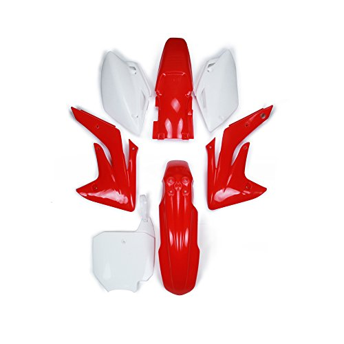 ABS Plastic Fender Fairing Body Work Kit Set For Honda CRF150R 2007-2013 Dirt Pit Bike Abs Plastic Body