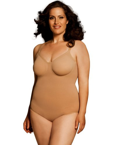 977233208 Body Wrap Fuller Figure Pin Up Nude Underwired Bodysuit 45001 ...