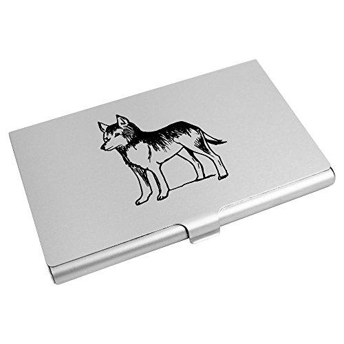 Wallet CH00003639 Azeeda Credit Card Holder Azeeda Card Business 'Wolf' 'Wolf' SzZx6w88q