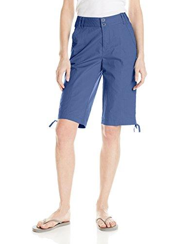caribbean-joe-womens-best-fitting-13-inseam-poplin-side-ruche-skimmer-bermuda-short-moonlight-blue-1