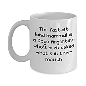 Dogo Argentino Mugs - White 11oz 15oz Ceramic Tea Coffee Cup - Perfect For Travel And Gifts 15