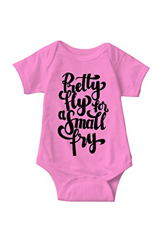 Pretty Fly For A Small Fry Sarcastic ME Unisex Infant Onesie Funny...
