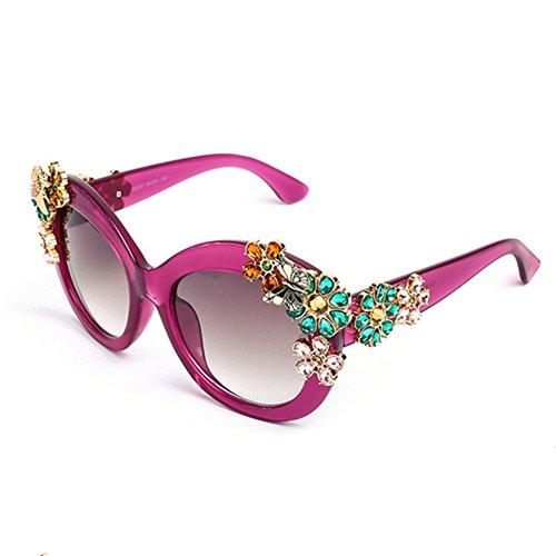 CherryGoddy European And AmeriCan Diamond Dazzling Dance Eyewear - Sunglassess Hut