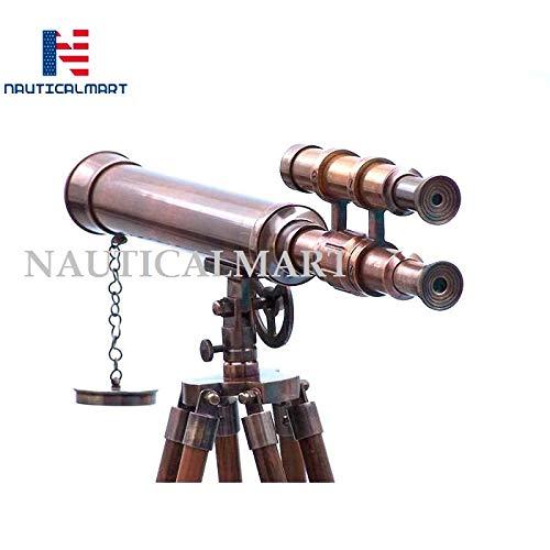 NAUTICALMART Floor Standing Antique Copper Griffith Astro Telescope 45''-Vintage Telescope