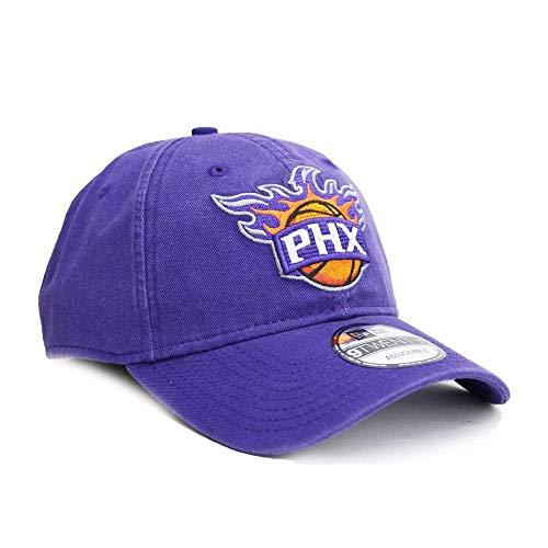 New Era NBA Phoenix Suns Core Classic 9Twenty Adjustable Cap, Purple, One Size