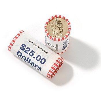 2008-D Monroe Presidential Dollar BU (Presidential Dollar Bu Roll)