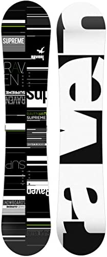 RAVEN Snowboard Supreme Black/Green