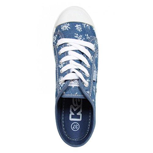 Sportif pour Femme KAPPA 303I180 KEYSY 914 BLUE-FLEUR