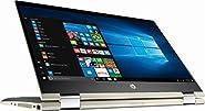 "HP Pavilion x360 14"" FHD WLED Touchscreen 2-in-1 Convertible Laptop, Intel Core i5-8250U up to 3.4GHz, 8GB DDR4, 128GB SSD, 802.11ac, Bluetooth, USB-C, Webcam, HDMI, Fingerprint Reader, Windows 10"