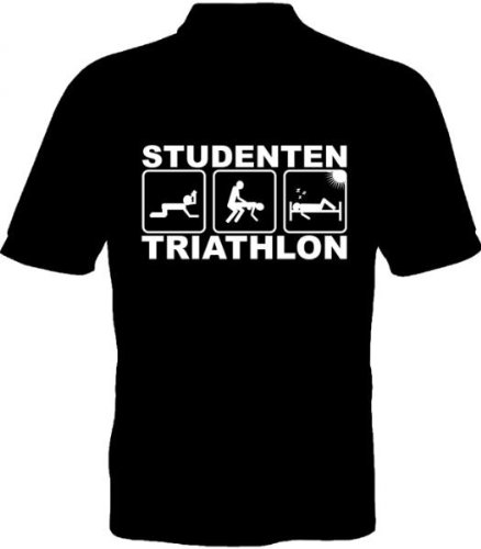 Fruit of the Loom Polo-Shirt - Studenten Triathlon