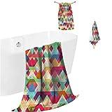 DayDayFun Towel Sets Indie Bathroom Set - Ultra
