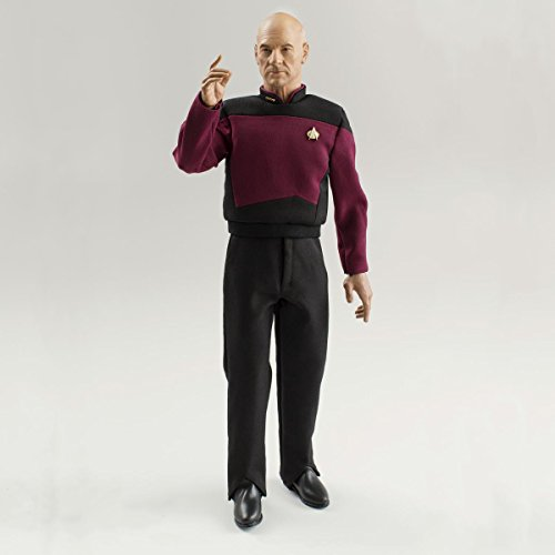Quantum Mechanix Star Trek TNG Jean-Luc Picard 1:6 Scale Articulated Figure (Star Trek Store)