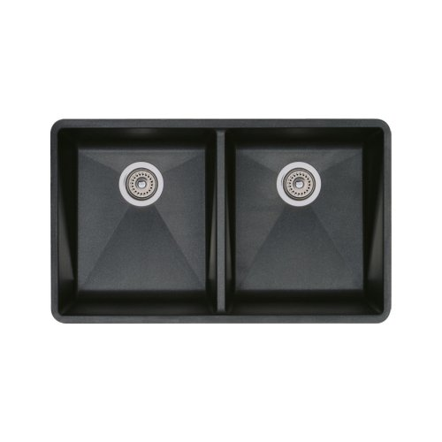 Anthracite Double Bowl Kitchen Sink - 1