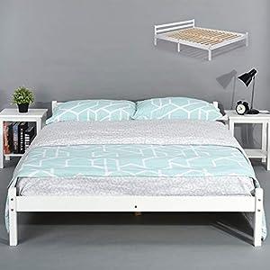 Homy Casa Estructura de la cama-2