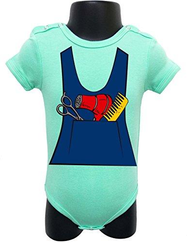 BABY Bodysuit Onesie Romper Soft UNISEX HALLOWEEN FUNNY Comes Gift Wrapped SIZE 0-6M (TIFFANY GREEN (Ideas Para Decorar Cupcakes De Halloween)