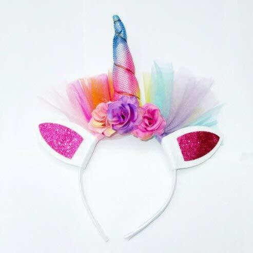 Magical Decorative Unicorn Horn Head Party Birthday Hair