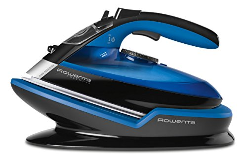 Rowenta Freemove Cordless Auto Off 400-Holes Stainless Steel Soleplate Steam Iron, Blue