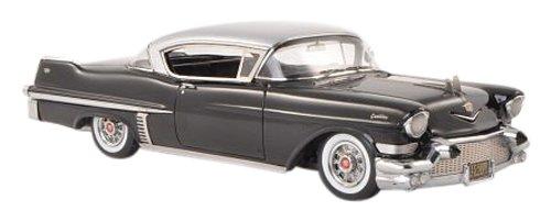 1/43 キャデラック 62シリーズ ハードトップクーペ 1957 (ブラック/シルバー) NEO45809