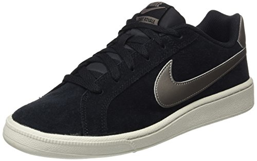 black Suede Royale light Bone Negro mtlc Hombre Para Pewter Court Nike Zapatillas Gimnasia De 7zEn5qw