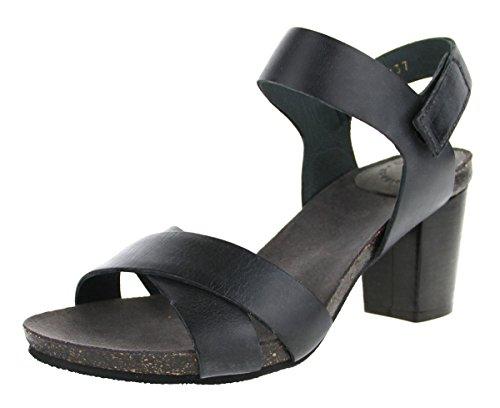 Ca'Shott 13040-130, Sandales pour femme SchwarzGrau (black)