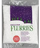 Buffalo Snow Flurries White Flakes, 2 Quarts