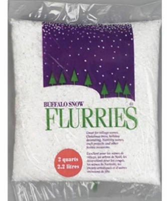 s White Flakes, 2 Quarts (Buffalo Snow)
