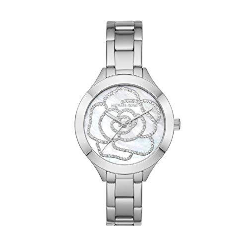Michael Kors Women's Slim Runway Stainless Steel Watch MK3991 (Slim Runway Stainless Steel Watch)