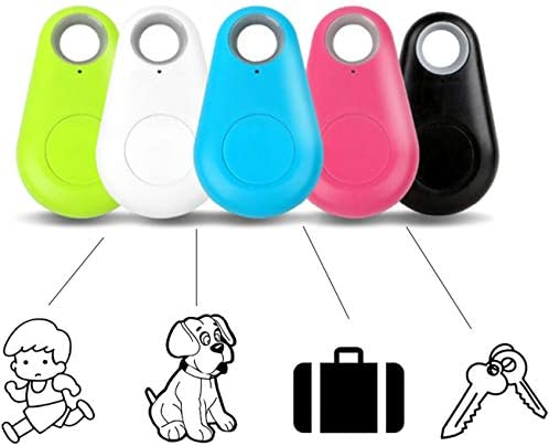Key Finder Locator Bluetooth Smart Tracker GPS, with App for Phones (5 Units)