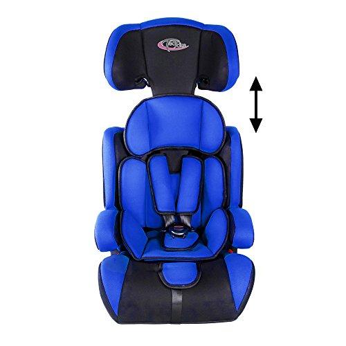 Tectake silla de coche para ni os grupos 1 2 3 pesos de for Silla coche bebe 9 kilos