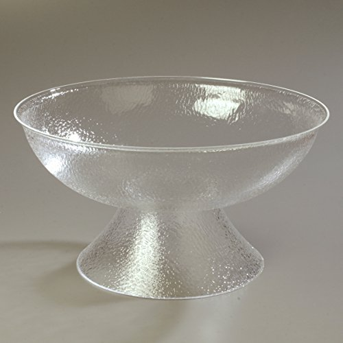 Carlisle SP2207 Acrylic Pebbled Punch Bowl, 24-qt. Capacity, 22'' Diameter x 11.12'' Height, Clear by Carlisle (Image #6)