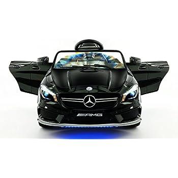 2016 mercedes cla45 12v kids ride on car toy mp3 usb player battery powered wheels r. Black Bedroom Furniture Sets. Home Design Ideas
